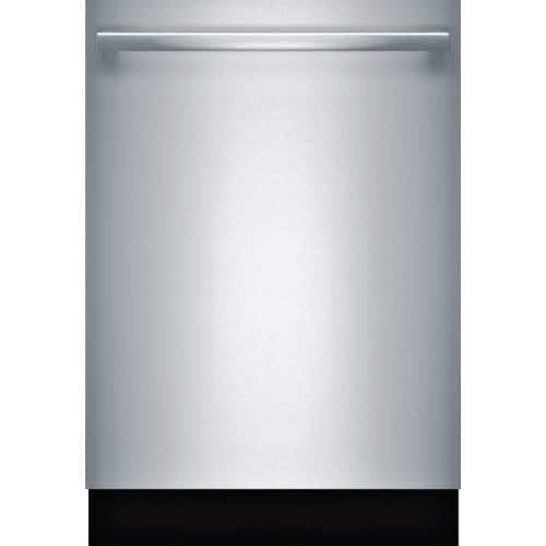 Bosch SHX863WD 24 Inch Wide 16 Place Setting Energy Star Built-In Fully Integrated Dishwasher with Bar Handle and ExtraScrub, Silver STAINLESS STEEL