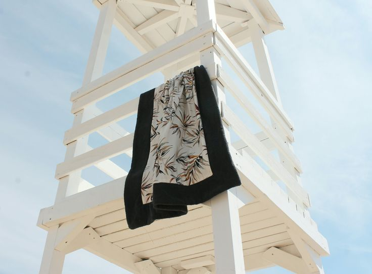 Handmade beach towel