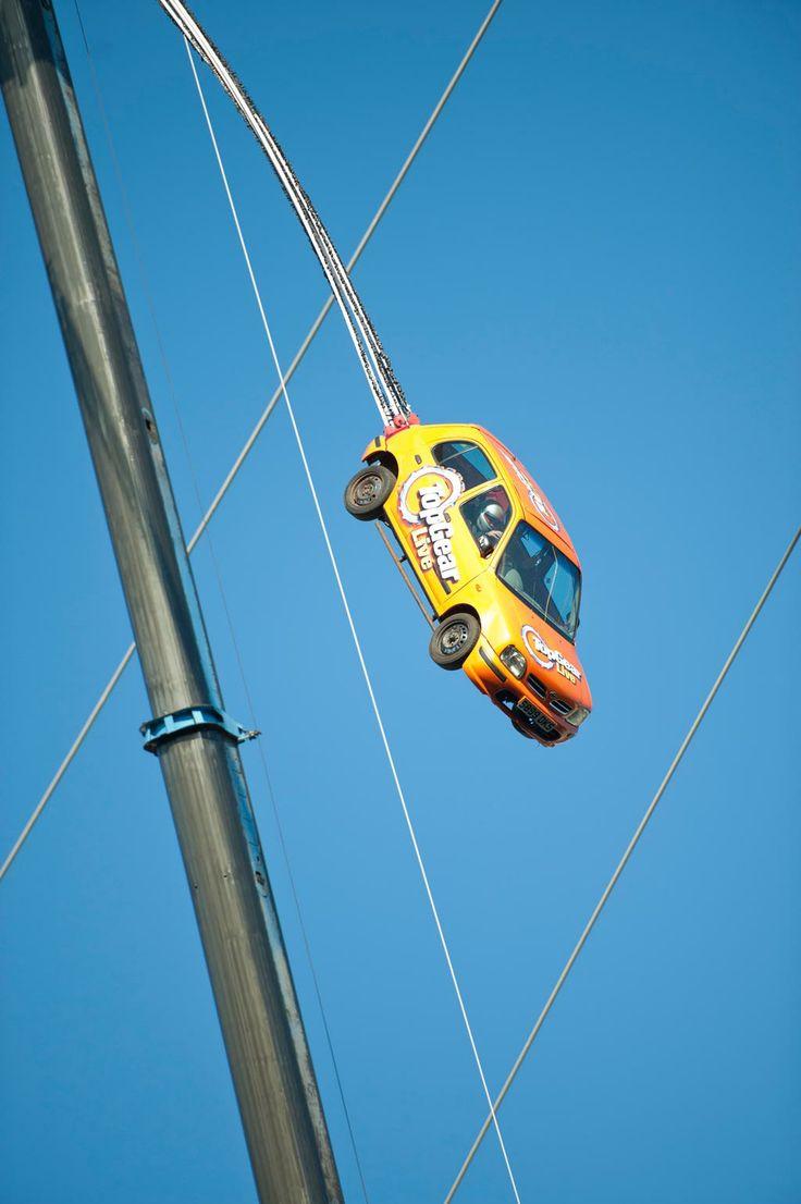 Car Bungee Jump!
