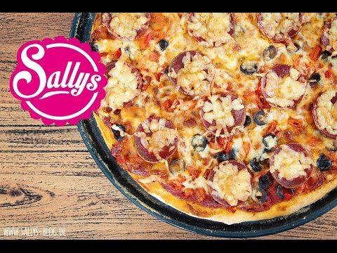 Sallys Blog - Sallys beste Pizza – Grundrezept Pizzateig und schnelle Pizzasoße