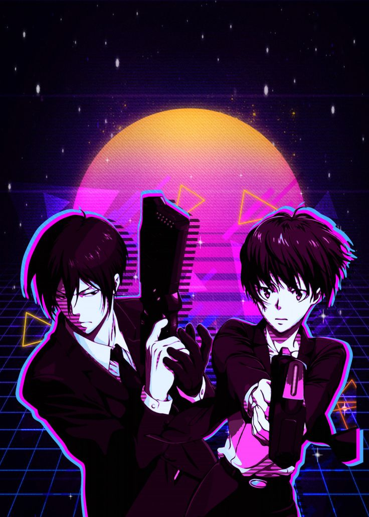 'psycho pass' Poster Print by The Master Displate in