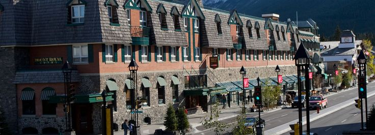 Historic Downtown Banff Hotel | Mount Royal Hotel | Brewster Travel Canada