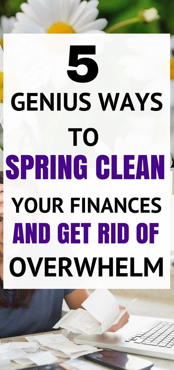 These 5 awesome tips to spring clean your finances are the absolute best! I'm so happyI found these great tips and tricks! Now I can get my finances in order and stop feeling overwhelmed. Definitely pinning!