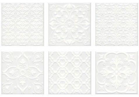 Керамическая плитка Kerama Marazzi Суррей Белый 200х200х7.9 мм 5226