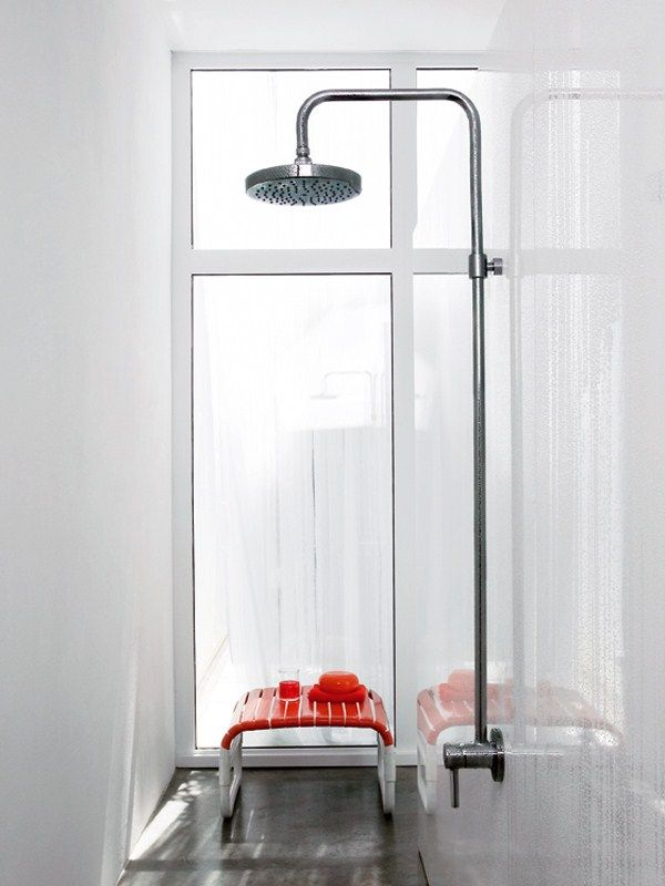 Shower panel with overhead shower PAN Shower panel with