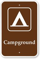 This website has lots of free PDF downloads of campsite signs - free printables for Camping Theme Party