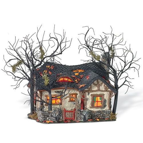 department 56 deep wood haunts