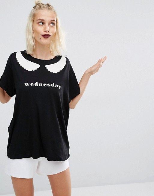 Wildfox   Wildfox - Halloween - T-shirt mercredi