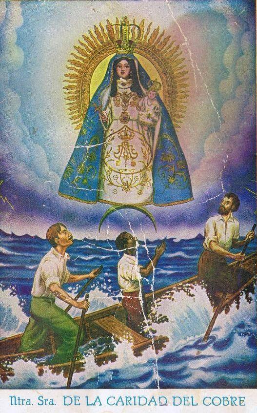 Nuestra Señora de la Caridad del Cobre, Patroness of Cuba.