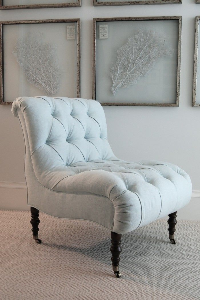 pale blue dreaminess; now in tufted