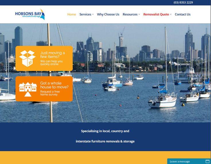 http://hobsonsbayremovals.com.au/ Website - Hodsons Bay Removals