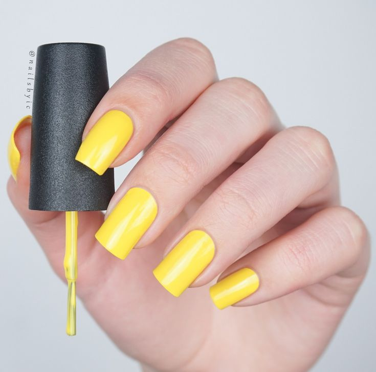 17 Best Ideas About Yellow Nail Polish On Pinterest