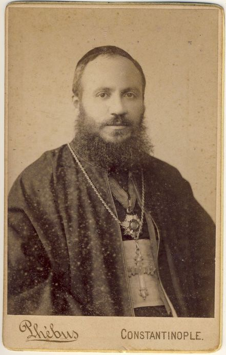 Armenian bishop Paul Terzian 1890