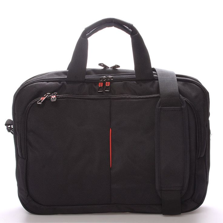 #novinka #2016/2017 Elegantní trendová černá taška - brašna Enrico Benetti pro pány i dámy. Ochraňte svůj počítač před vnějšími vlivy kvalitně! Tašky za čtyři stovky nic nevydrží a nejsou ani pořádně vypolstrované. Tato taška má pevné polstrované stěny a zvlášť kapsu i na tablet. Kapsa na notebook pojme max. velikost 37 x 26 cm. Zezadu je pásek pro navlečení tašky na madlo od cestovního kufru.