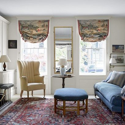 A Small White Georgian Room With Traditional Furniture Fireplace Bookcase And Large Colours The Best Living Decoration Ideas