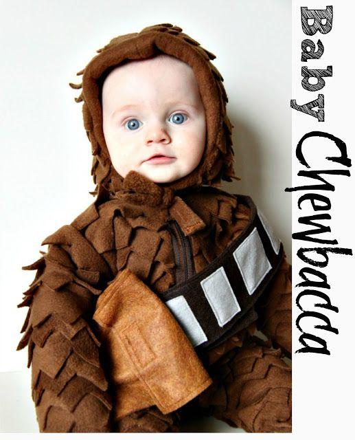 DIY Baby Chewbacca Costume - So cute!!!