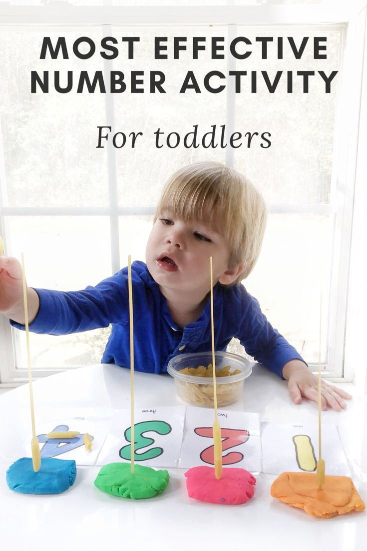 Counting number activity for toddlers. Learning activity for toddlers
