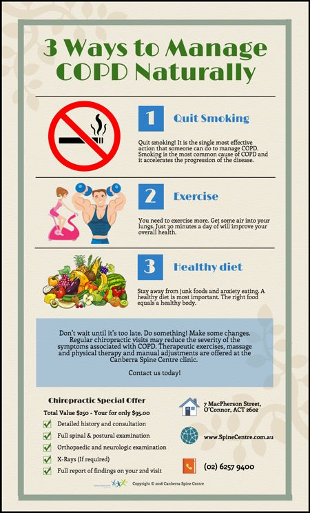 3 Ways to Manage COPD Naturally  www.spinecentre.com.au
