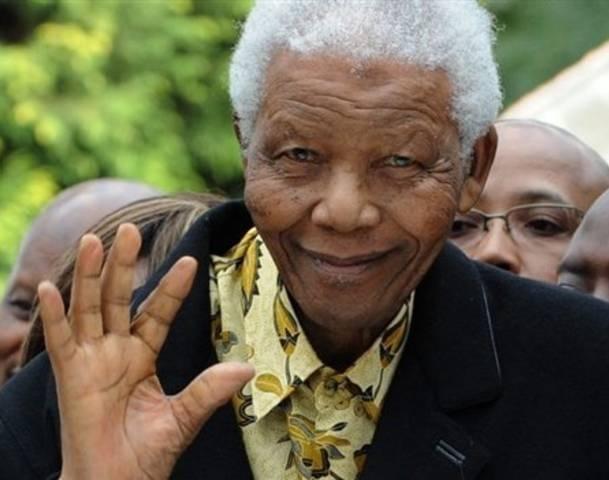 Nelson Mandela, 11 februari 1990, vrijgelaten uit Robbeneiland