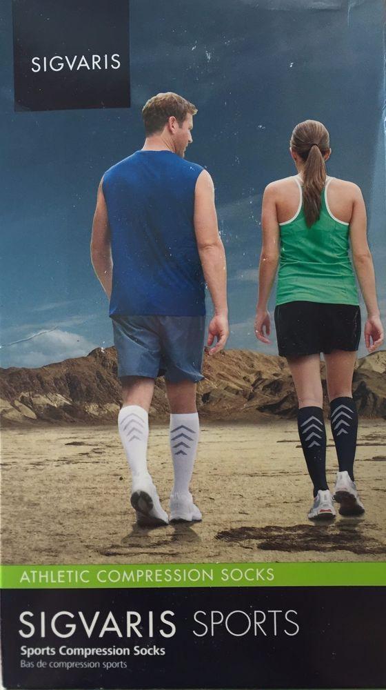 SIGVARIS 401C  Athletic Compression Sports RECOVERY Socks 15-20mmHg | eBay