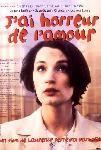 Jeanne Balibar dans j'ai horreur de l'amour ... sur son scooter dans les rues de Paris ...