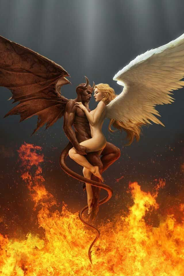 The legends go that the first incubus was born of a demon and angel. Abandoned by both parents on earth, he became jealous and searched for a way to increase his power so as to destroy them. He found that through sex he was able to absorb the life force of a human.