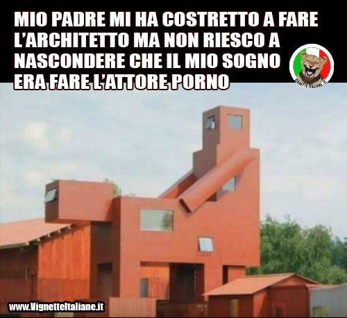 * L'architetto sexy (www.VignetteItaliane.it)