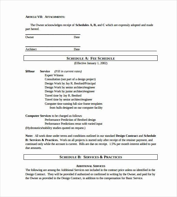 Interior Design Contract Template In 2020 Contract Template Templates Selling Website Templates