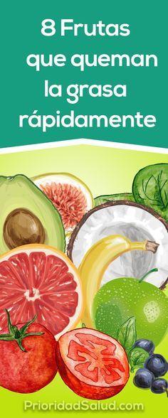 Estas 8 frutas (aguacate o palta, granada, tomate...) te ayudan a quemar la grasa del cuerpo rápidamente.