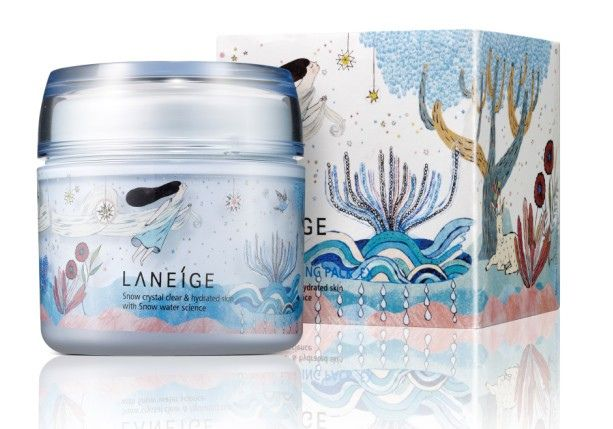 collaboration with Laneige by Yeti Yun