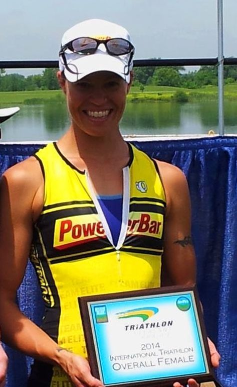 Kimberly Goodell wins Pleasant Prairie Triathlon