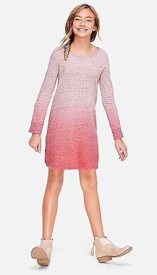 02f67d03f Ombre Lace Up Sleeve Dress