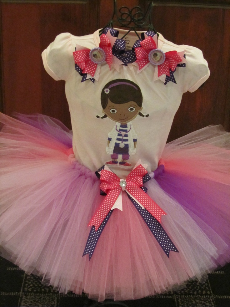 Doc McStuffins Tutu Set - my niece would LOVE this! :)