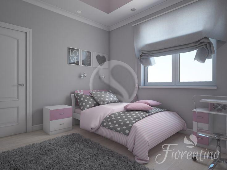 Fiorentino 521 PINK - Seria Nowoczesna - Meble dla dzieci - Oferta - Fiorentino