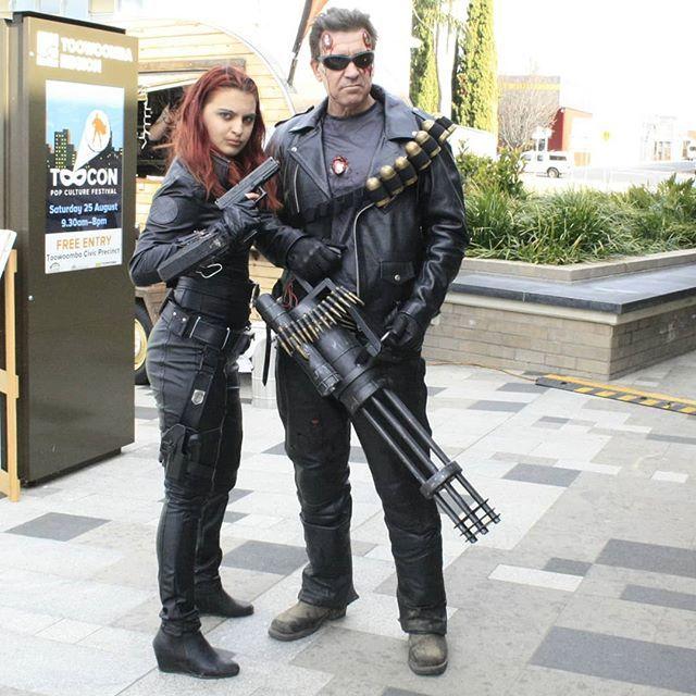 terminator kostüm