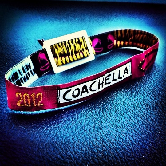 My fave from #coachella is the bracelet