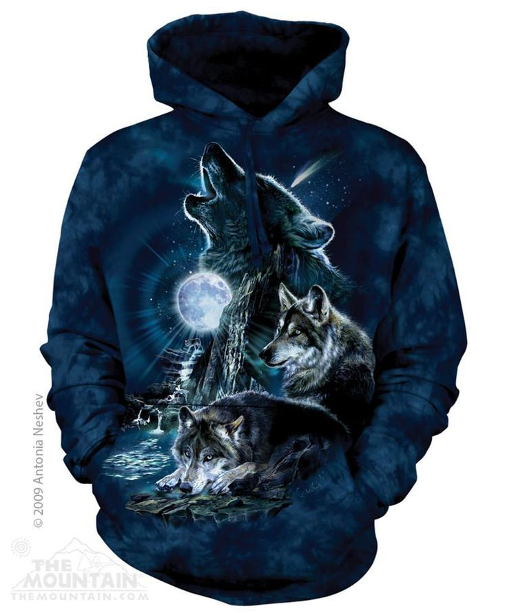 BARK AT THE MOON HOODIE BY THE MOUNTAIN®