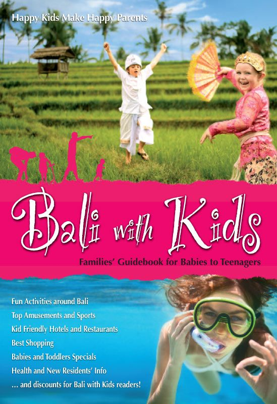 Bali with kids book