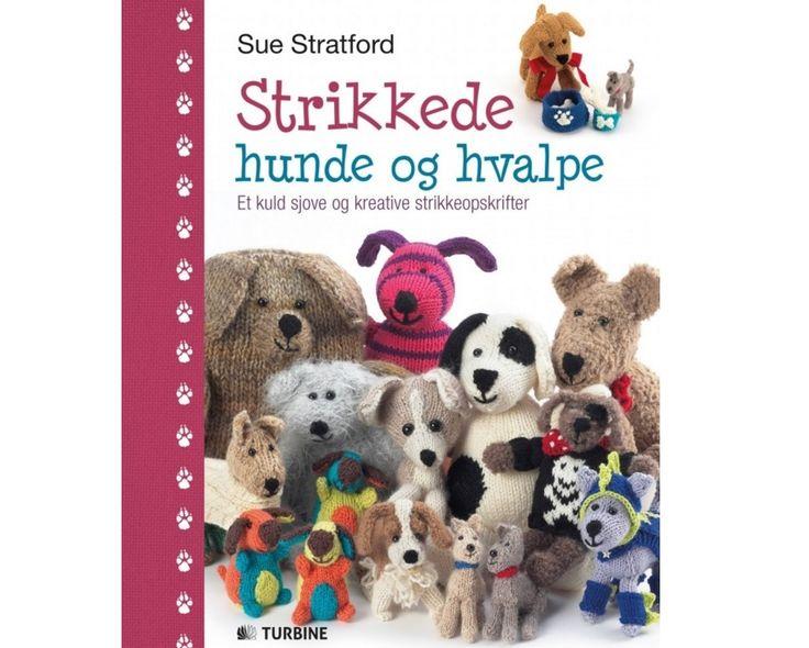 Strikkede hunde og hvalpe - Sue Stratford - Strikkebog