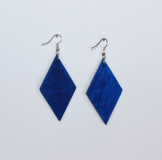 Check out this item in my Etsy shop https://www.etsy.com/listing/508958121/handmade-wooden-earrings-rhombus