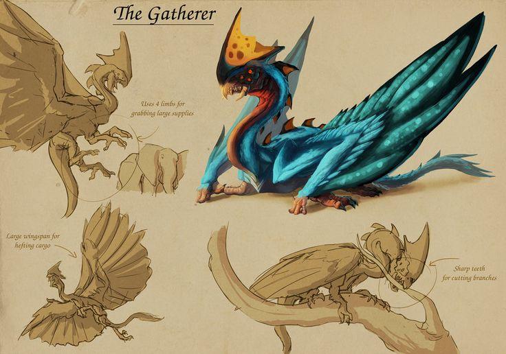 Bio-Diverse Colony - Gatherer by Tchukart on deviantART