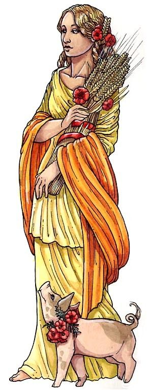 Ceres - Goddess of Fertility Wissen genial - Altes Rom (Knowledge Genious - Ancient Rome), Schwager und Steinlein Verlag, 2011/2012