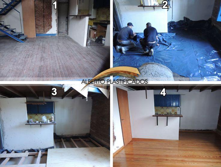 Arreglo montado e hidrolaqueado de piso de pinotea - Como quitar el sarro del piso ceramico ...