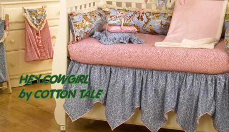 vintage lace bed skirts | vintage retro cowgirl baby nursery crib bedding sets nursery theme