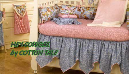 vintage lace bed skirts | vintage retro cowgirl baby nursery crib bedding sets nursery theme