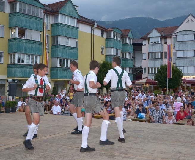 Internationales Jugend Volkstanz Festival in Seeboden
