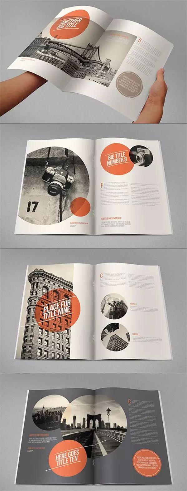 杂志排版设计风格都在这里!