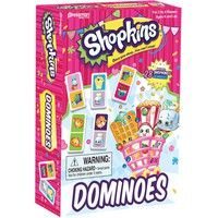 Shopkins Dominoes: The classic game of dominoes gets a fun Shopkins makeover with this Shopkins Domi