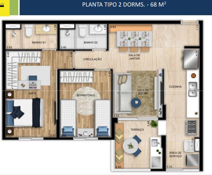 SANTO ANDRE – 2 OU 3 DORM – 1 OU 2 VGS DETERM. Lançamento | Corretor de Imóveis Galiardi creci 91613