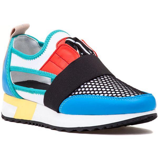 Wedge heel sneakers